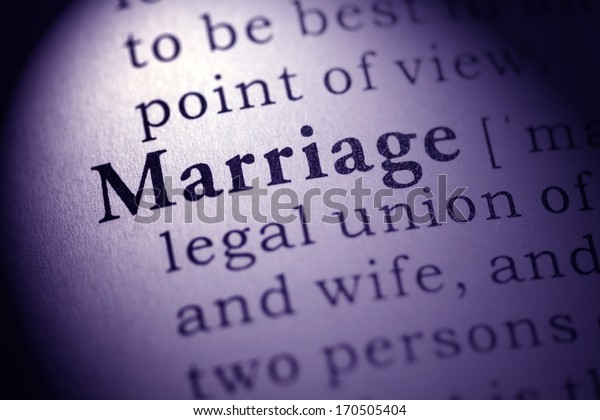 Fake Dictionary, Dictionary definition of the word marriage.