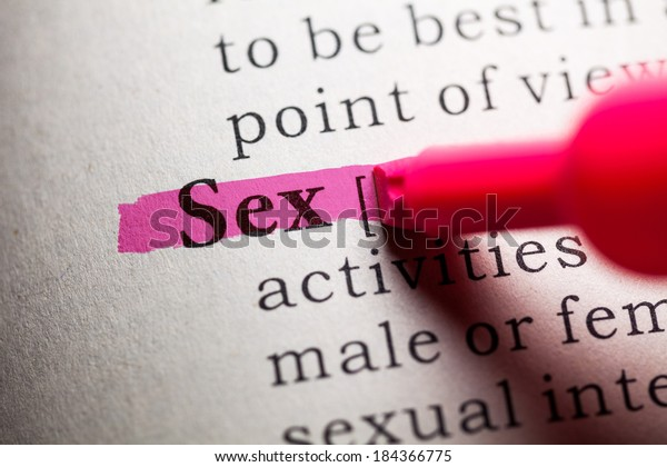 Fake Dictionary, definition of the word sex.