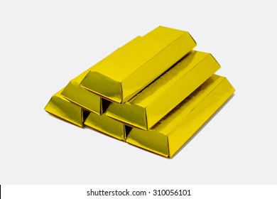 fake gold made from paper (ghost money)