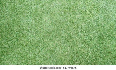 fake grass on top view, background