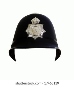 Fake London Metropolitan Police Helmet, you can insert a face in the white space area.