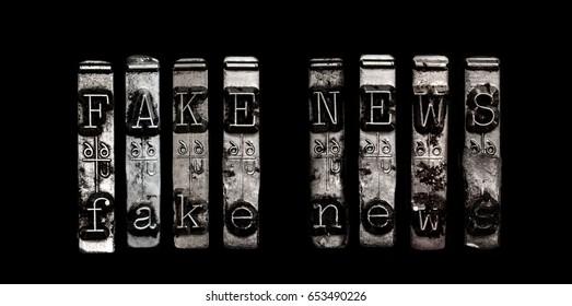 Fake news concept