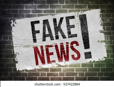 Fake News - poster concept