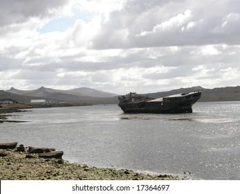 Falkland Island shipwreck