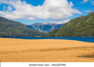 Falkner Lake located in the Nahuel Huapi National Park, province of Neuquen, Argentina