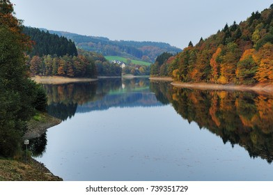Fall at the Aggertalsperre - Genkeltal