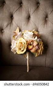 Fall autumn wedding bouquet