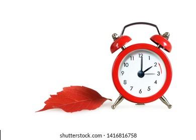 Fall back. Daylight saving time