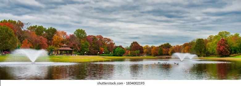 Fall in Beautiful Spring Lake Park