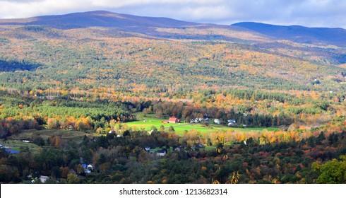 Fall at Berkshire county Massachusetts