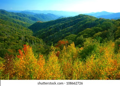 fall color, Great Smoky Mountains National Park