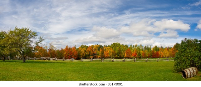 Fall Color Panorama