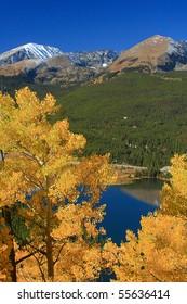 Fall colors above Breckenridge, Colorado