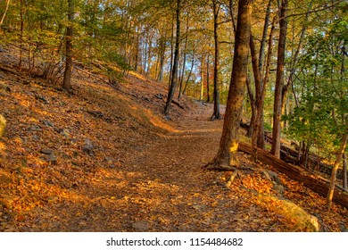 Fall Colors, Maryland Height Trails, Harper's Ferry, Maryland