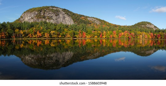 Fall Colors on Echo Lake, North Conway, New Hampshire