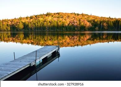 Fall Evening on Pickett Lake, New Brunswick Canada (taken on my property)