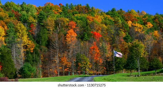 Fall Foliage in Addison County, Vermont