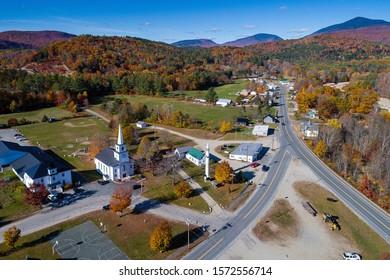 Fall Foliage in Warren, NH