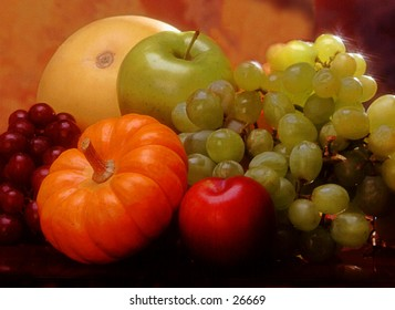 Fall Fruit and vegetables
