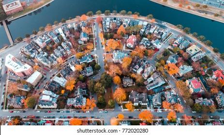Fall in Ghent, Norfolk Va