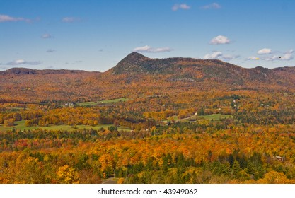 Fall landscape with colors