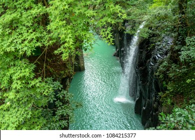 the fall of manai in takachiho valley