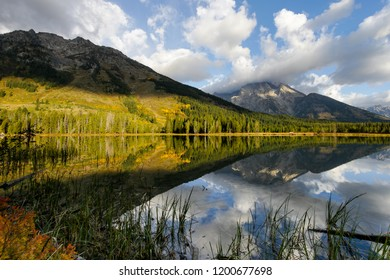 Fall Mountain Reflections
