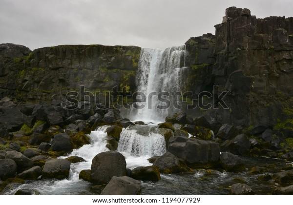 Fall near Iceland rim NP