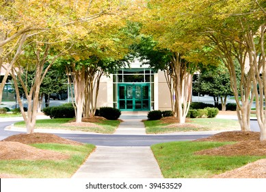 Fall Office Building