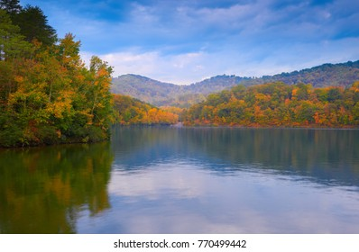 Fall on Dewey Lake, KY