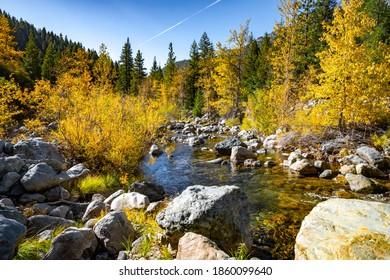 Fall on the North Yuba River