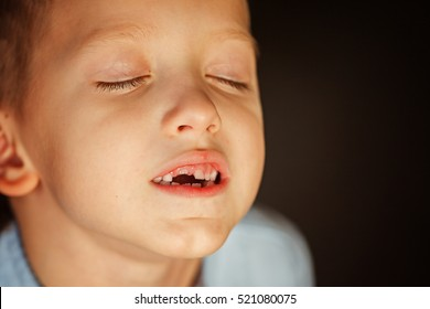 Fall out of the kids first tooth.