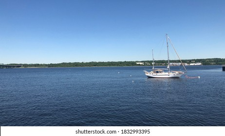 Fall River Massachusetts waterview location during seasonal time