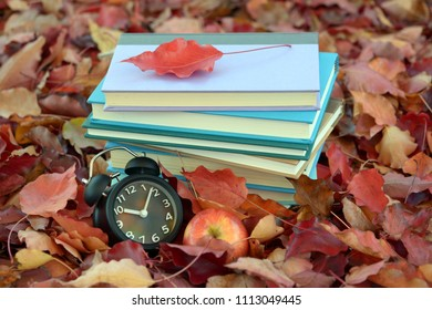 Fall season and book for education