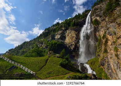 Fallbach waterfall in Austria