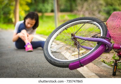 Falling bicycle,Accident