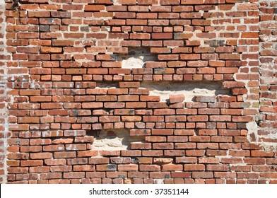 Falling Brick Wall