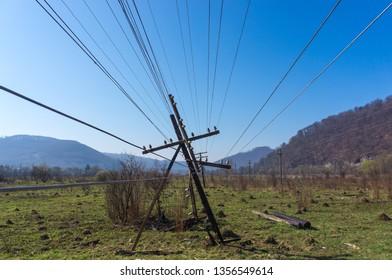 Broken Pole Images, Stock Photos & Vectors | Shutterstock