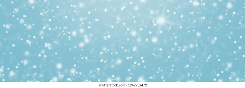 FALLING SNOW FOR BACKGROUND