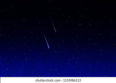 Falling stars, Perseids