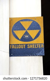 A Fallout Shelter sign leftover from WWII