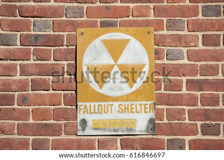 Fallout Shelter Sign on