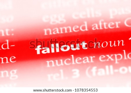 fallout word in a
