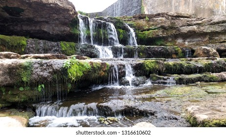 Falls of Bolao in Cantabria