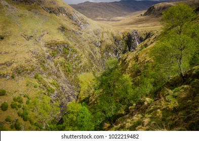 Falls of Glomach, Scottish Highlands. United Kingdom.