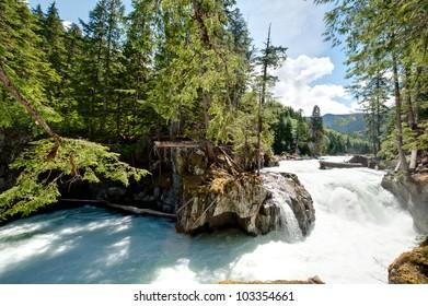 Falls on Cheakamus River