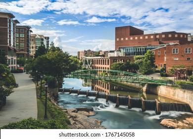Falls Park Downtown Greenville South Carolina