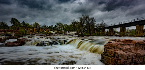 Falls Park - Sioux Falls South Dakota United States Landscapes