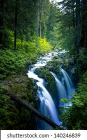 Falls in Sol Duc, Olympic National Park, WA.