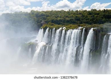 Falls, Waterfalls, Brazil, Nature, Iguazufalls